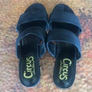 {Sam Edelman - Circus} Black Slides. Size 7.5.